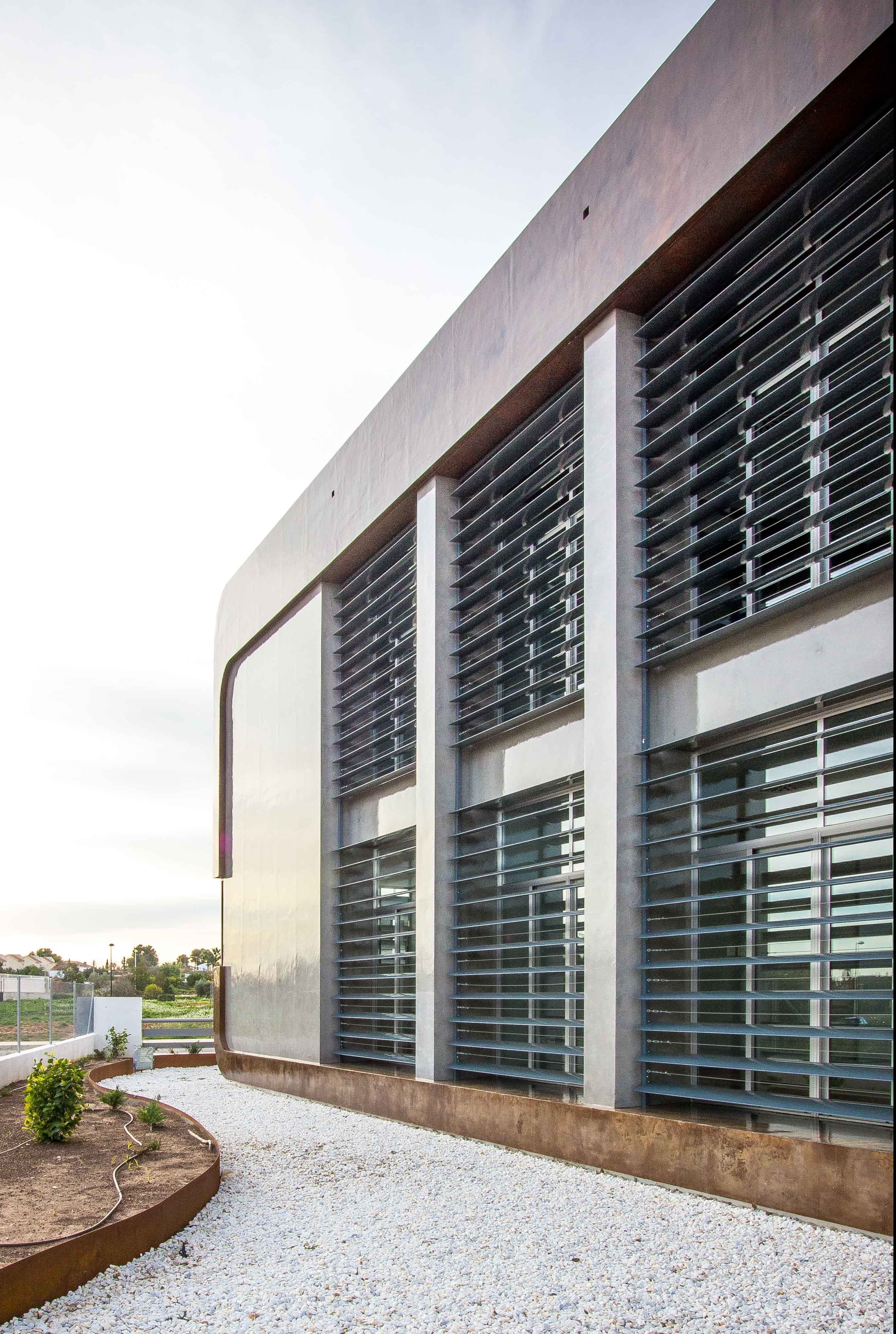 Casa acero corten moderna- Chiralt Arquitectos Valencia
