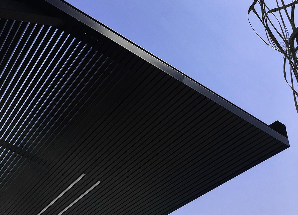 pergola casa vivienda moderna chiralt arquitectos valencia