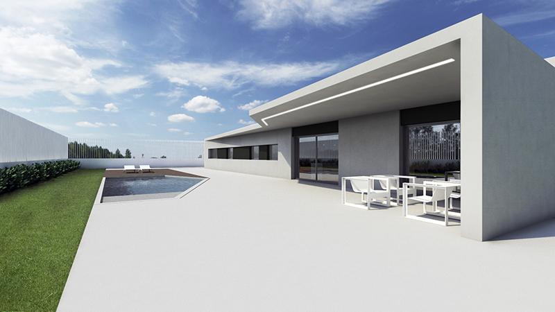Vivienda minimalista - Chiralt Arquitectos Valencia